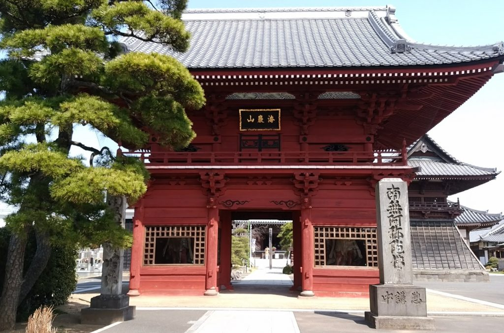 徳願寺山門