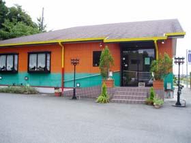 レストラン樅の木の入口