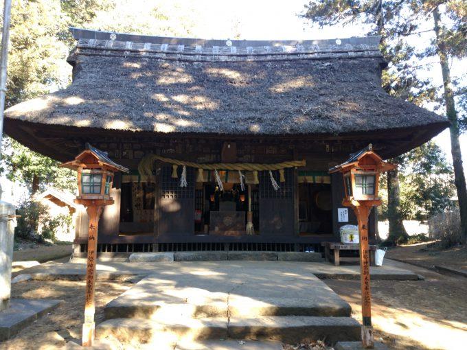 国王神社拝殿